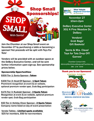 Shop Small flyer with Sponsors as of Sep. 3.png
