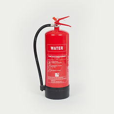 Water fire extinguisher, Class A fires.
