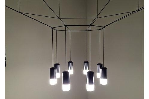 Потолочный подвесной светильник WIREFLOW, VIBIA (Италия)