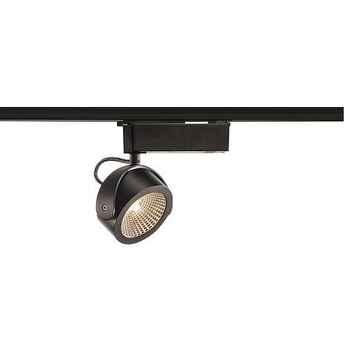 1PHASE-TRACK, KALU TRACK LED светильник 17W, 3000К, черный SLV (Германия)