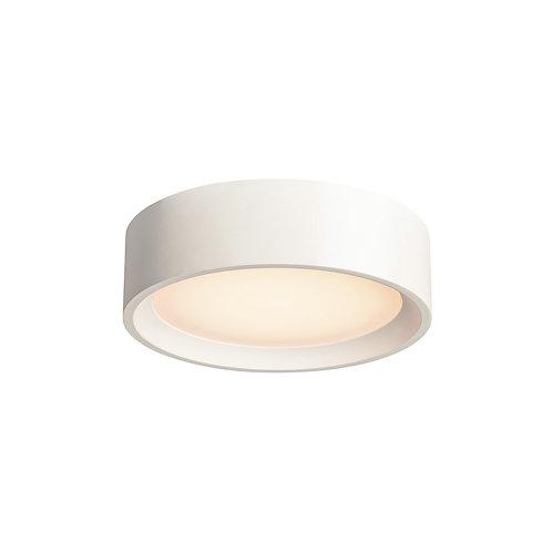 PLASTRA ROUND LED CL-2 светильник потолочный 15W, 3000К, гипс.SLV (Германия)