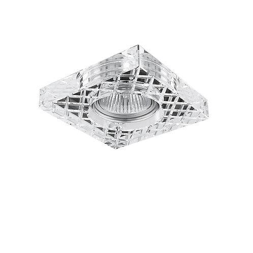 Встраиваемый светильник  FACETO QUA CR Lightstar (Италия)