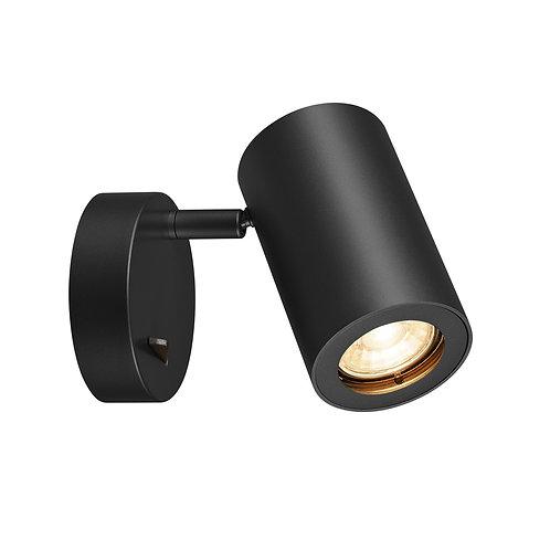 ENOLA_B SINGLE SPOT светильник накладной 50W , черный SLV (Германия)