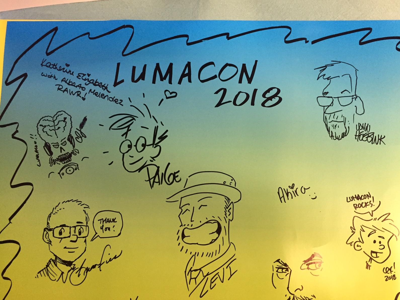 Artist board doodles 2018