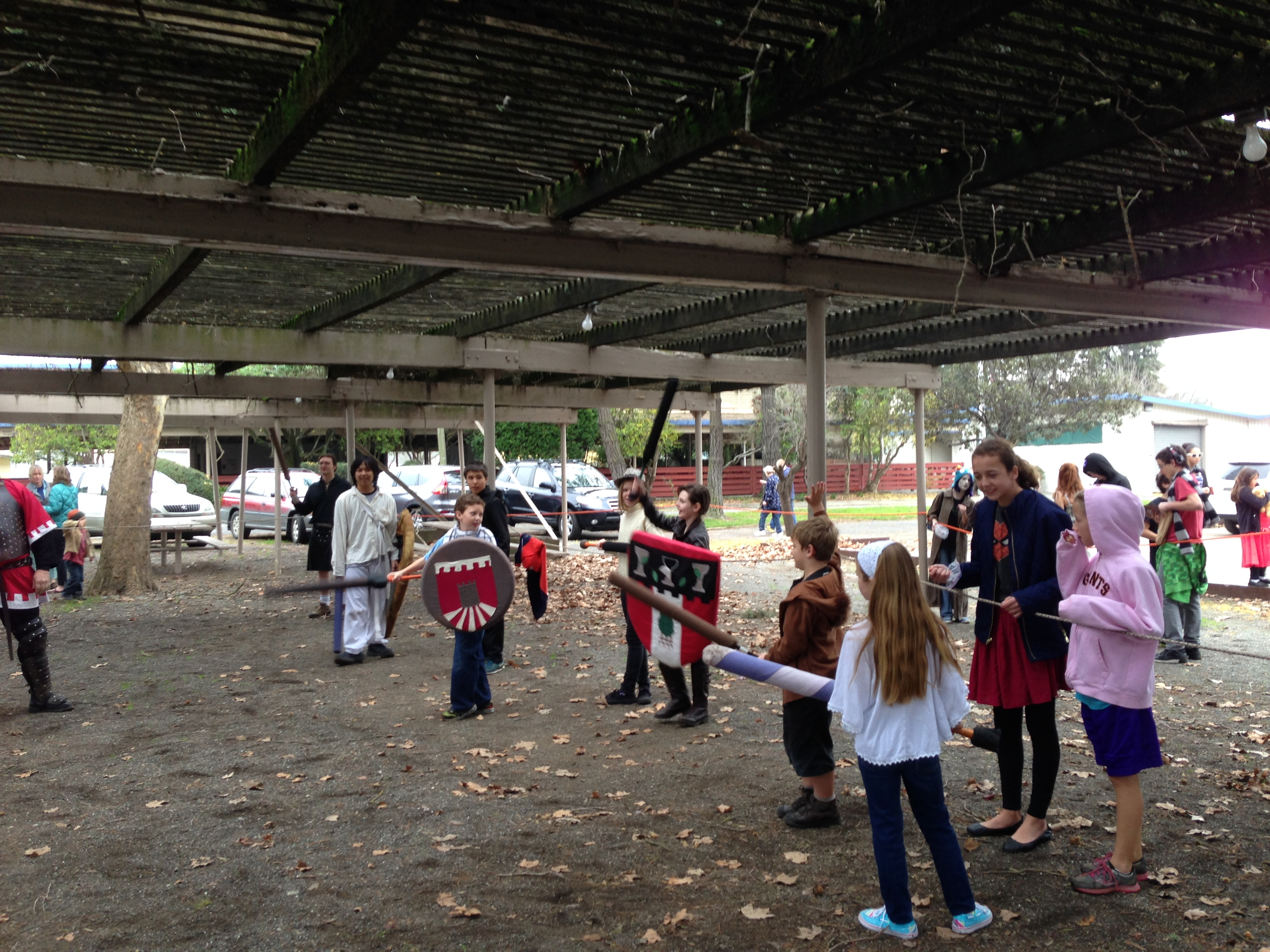 Larping kids by DavidD