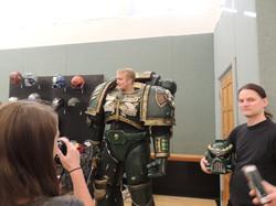 Cosplay armor demonstration