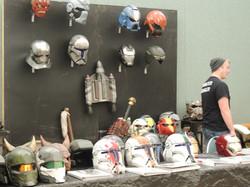Cosplay armor display