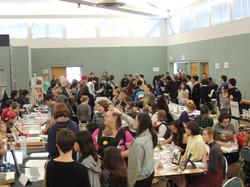 Busy main hall
