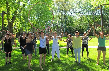 hula hoop bachelorette