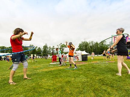 hula hoop party
