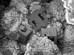 Bariopharmacosiderite Pira Inferida mine