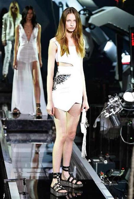 Fashion's robots: McQueen vs Plein