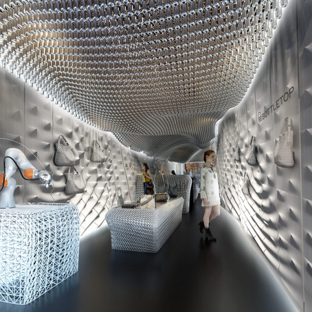 Bottletop's flagship store - a symbiosis of sustainability and tech