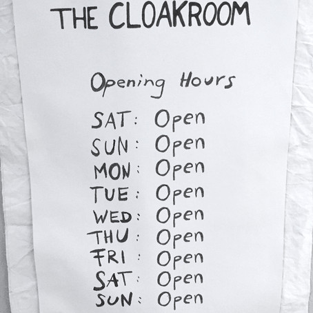 Faye Toogood's 'The cloakroom' at LDF: an icebreaker and a furnace