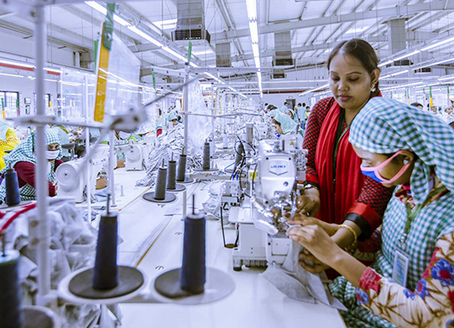 The country with the most certified sustainable garment factories is...