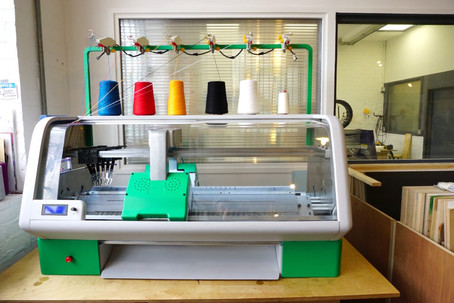 Kniterate brings industrial digital knitting to a desktop near you