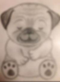 Mindful Moe Sketch