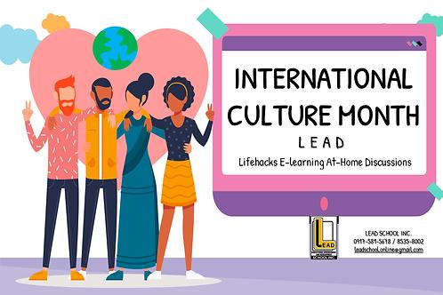 Module - International Culture Appreciation