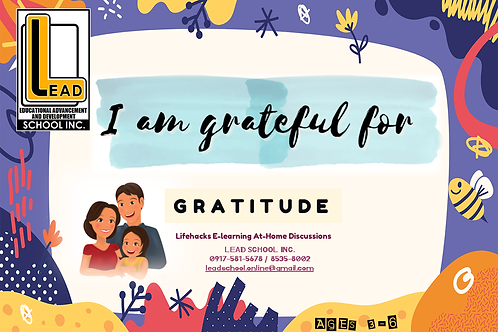 Life Hacks Book - Gratitude