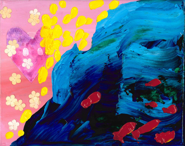 Acrylic, Paper, Watercolor 2020