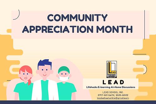 Module - Community Appreciation