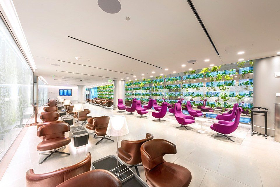 Business Class Lounge for Privilege Club Gold and Silver members and oneworld Sapphire members