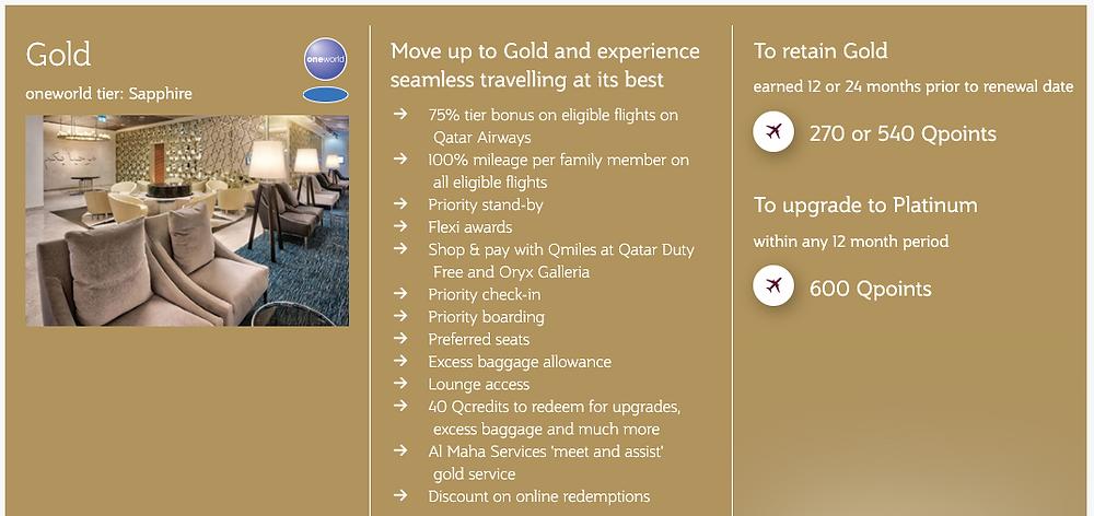 Privilege Club Gold Membership Benefits