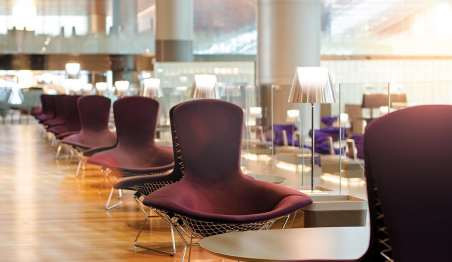 Ample Seating Available at Al Mourjan Business Lounge Doha
