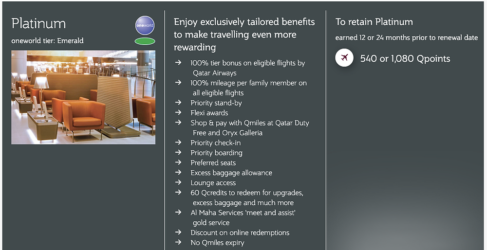 Privilege Club Platinum Membership Benefits