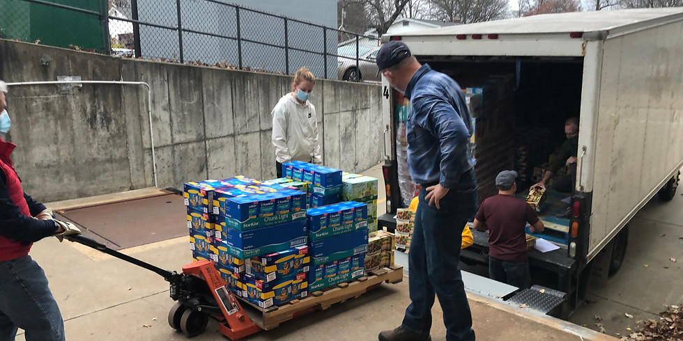 April Food Unloading