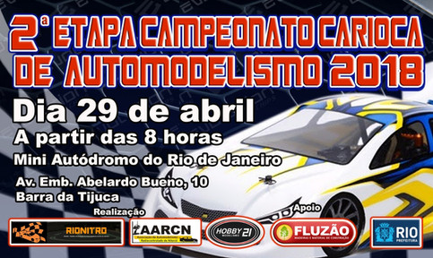 2ª Etapa do Campeonato Carioca de Automodelismo 2018
