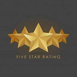 five-golden-rating-star-vector-illustrat