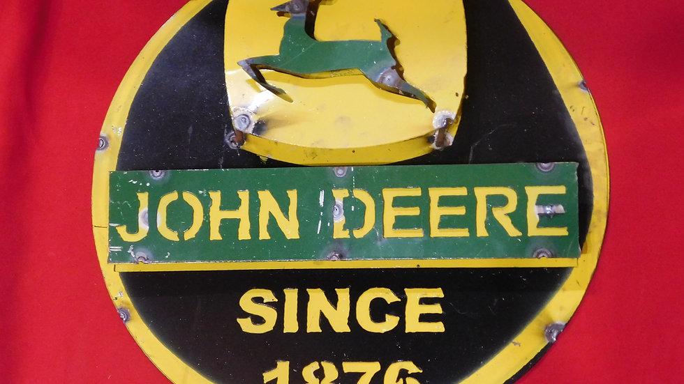 John Deere Since 1876 Large Sign