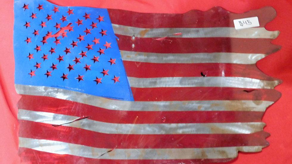 American Metal Flag