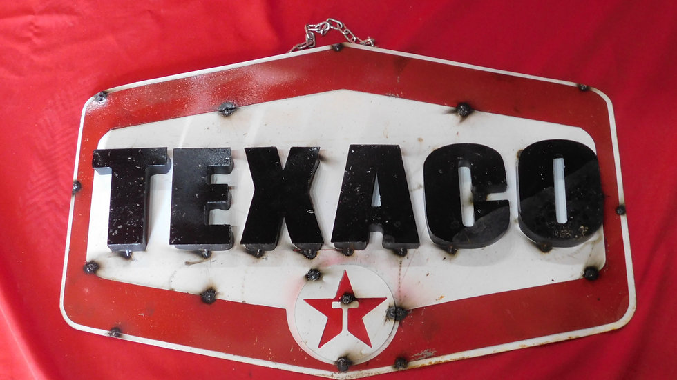 Texaco Sign Large