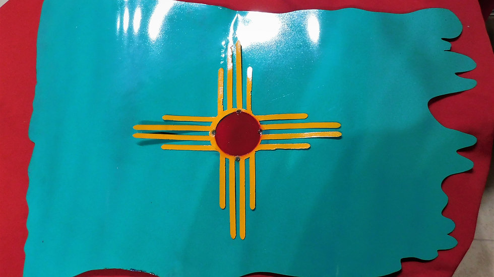 New Mexico Teal Flag