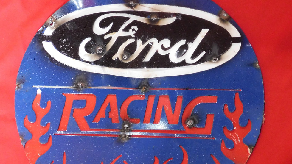 Ford Racing Large Sign