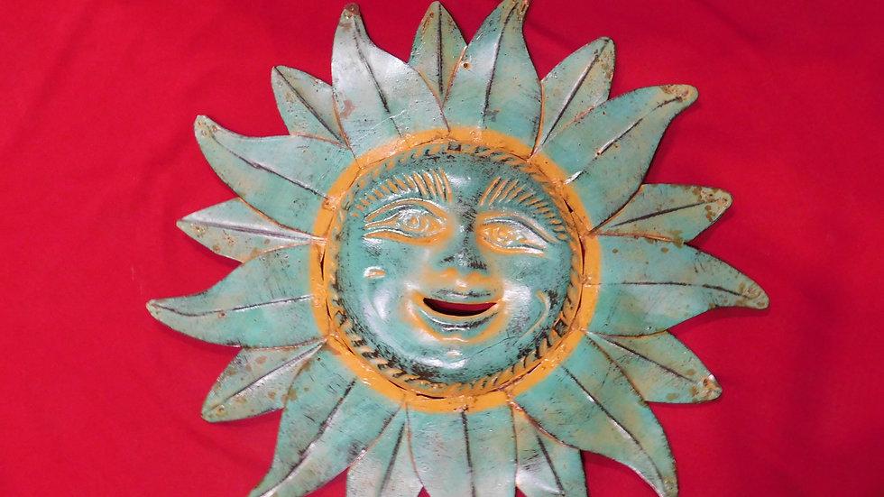 Clay & Metal Sun