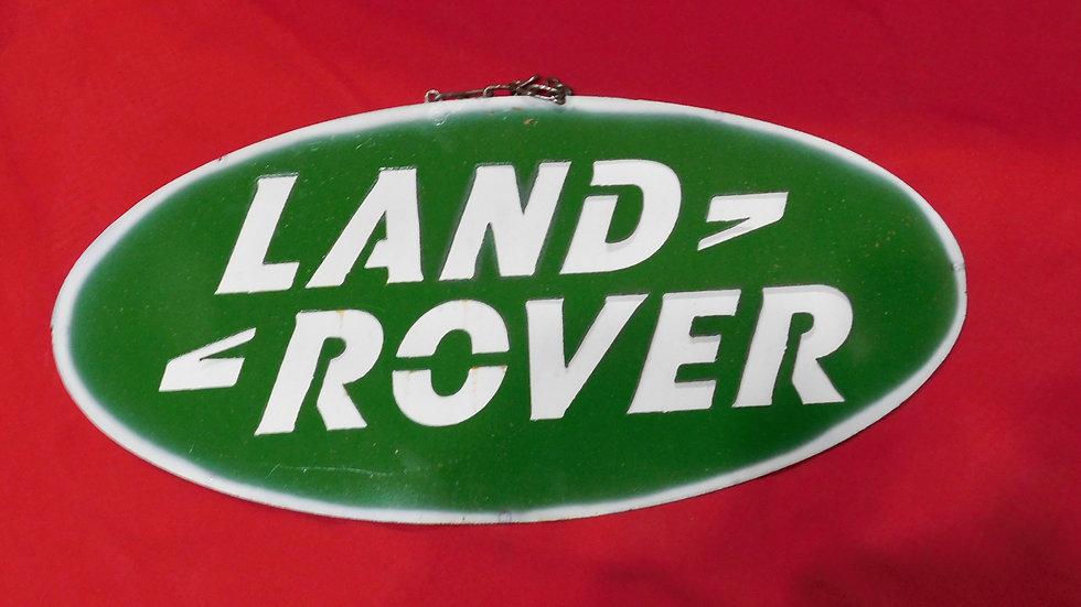 Land Rover Large Sign