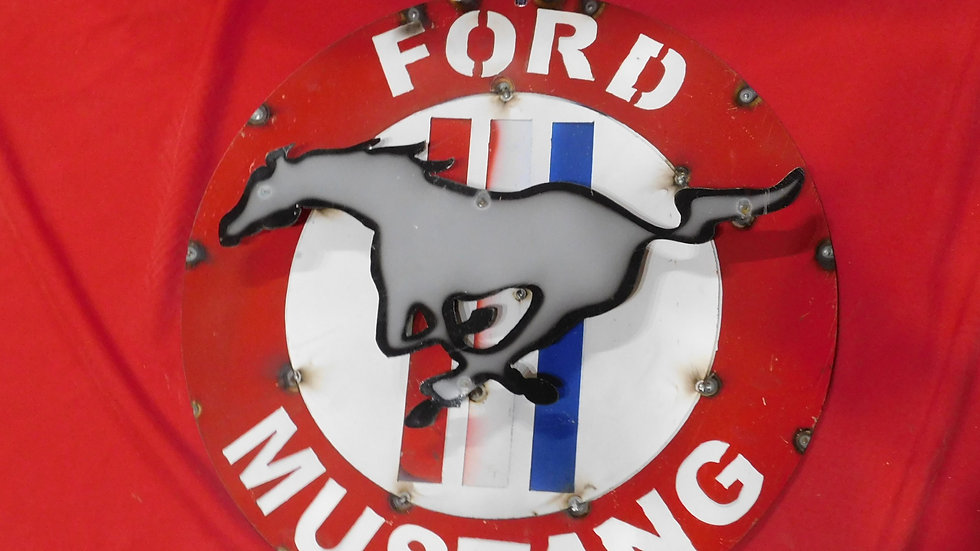 Ford Mustang Small sign
