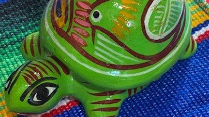 Turtle Green Jewelry Box