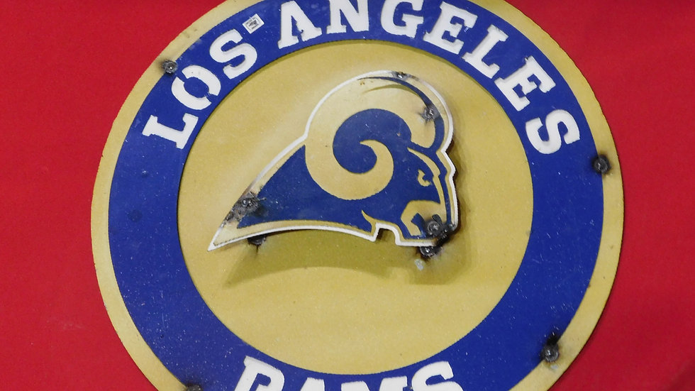 Los Angeles Rams Large sign