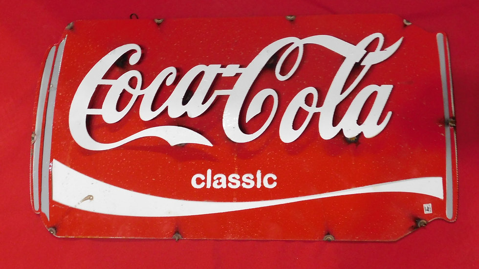 Coca-Cola Can Large Sign