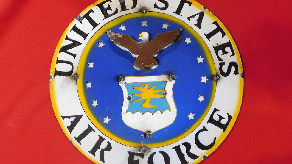 Air Force Large Sign