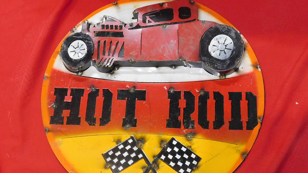 Hot Rod Large Sign