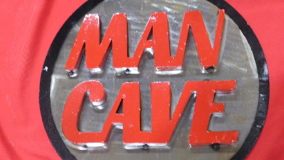 Man Cave Large Sign