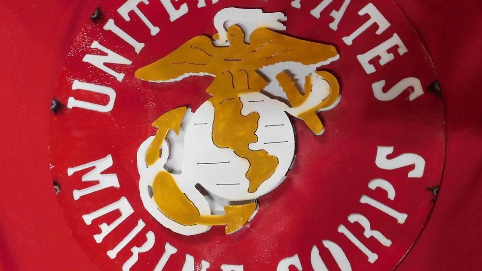 Marine Corps Large Sign