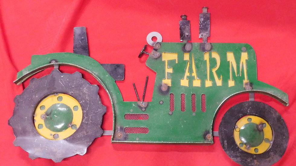 Farm Tractor Large Sign