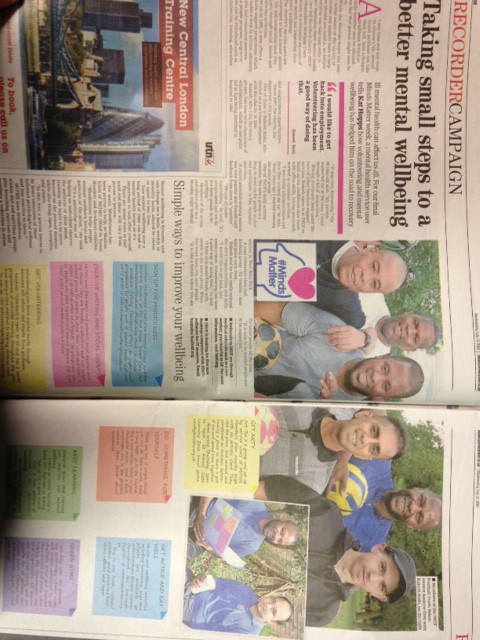 INUF was in the Newham Recorder again 2 weeks ago!