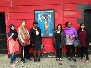 Women's Group Make Room for a Theatre Trip